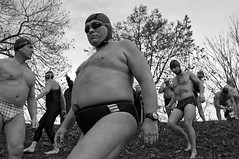 Winter swimmeres II. (Petr Kleiner) Tags: people woman black water canon pentax oldman swimmers petr kleiner digiphoto petrkleiner grandpagrandmam