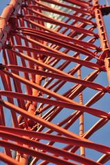 Orange_DSC1033 (sara97) Tags: orange tower bluesky missouri saintlouis broadcasttower kdhx broadcastequipment kdhxfm881 photobysaraannefinke copyright2011saraannefinke kdhxcommunitymendia