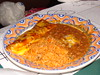 Cheese Enchilada with Beef Sauce