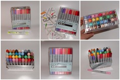 My monthly bonus for December 2008: Copic CIAO Markers 36B set (yifatiii) Tags: illustration comics scrapbook sketch drawing ciao stamping blender markers airbrush copic 36b highlighting acidfree