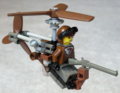 Super-Light Steam Helicopter Mk. XXVII (aillery) Tags: war lego military great steam helicopter steampunk