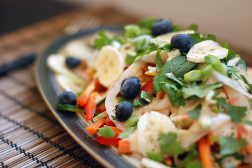 Coconut Rainbow Salad