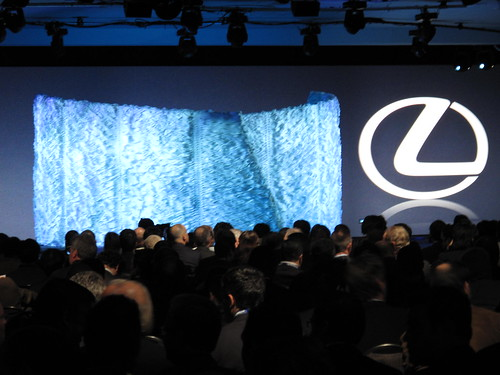 Lexus HS 250h press reveal