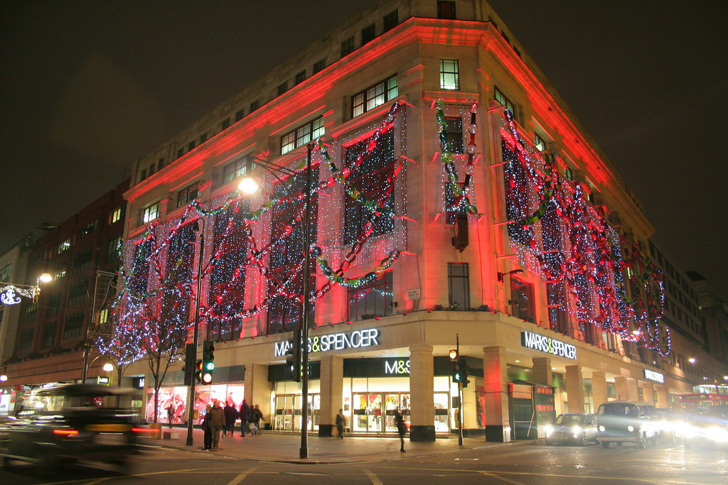 Marks & Spencer had the best lights...