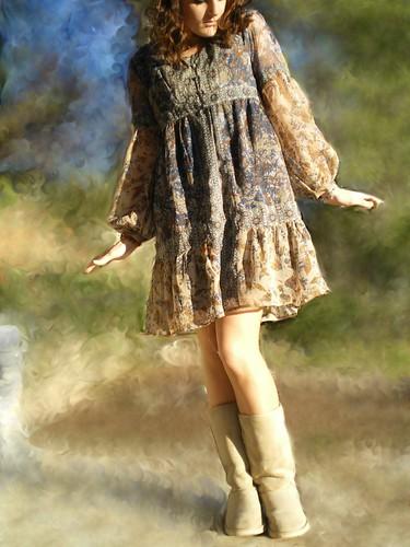 petite robe folk