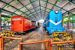 Museu do Trem do Recife | HDR (Omar Junior) Tags: blue red fish azul train cores geotagged tren high track dynamic pentax d cyan vivid eisenbahn zug fisheye vermelho imaging recife pe trem mapping ist range tone hdr pernambuco multicolor pentaxistd hdri mapped rec colorido highdynamicrangeimaging 1728mm pentaxffisheye135451728mm geo:lat=8068556 geo:lon=34884585