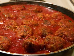 Real Meatballs and Sauce
