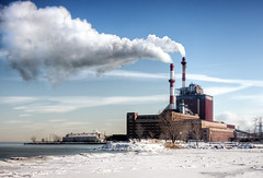 Generating (The New No. 2) Tags: chimney snow plant chicago cold industry ice electric smog illinois energy industrial day factory power gbrearview state smoke indiana stack line il generator smokestack greenhouse pollution infrastructure electricity environment powerplant carbon facility electrical hazardous powerstation climate crisis hdr warming globalwarming ecological stateline manufacturing dioxide chicagoist generating eastchicago pollutants johncrouch statelinepowerplant statelinegenerating wwwcrouchphotoscom johncrouchphotography capturemychicago crouchphotos
