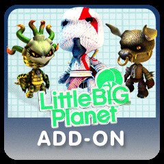 LittleBigPlanet Add-On - God of War Level Pack