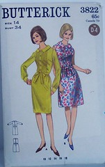 Vintage Butterick Pattern 3822 Bermuda Collared Shirtdress Fitted Bodice Pin Tucked Size 14 (Sassy By Design) Tags: she vintage flickr pattern sewing international cast etsy shirtdress sewingpattern size14 pintucks fittedbodice bust34 dirndlskirt sassybydesign hip34 waist26 butterick3622 butterick3822