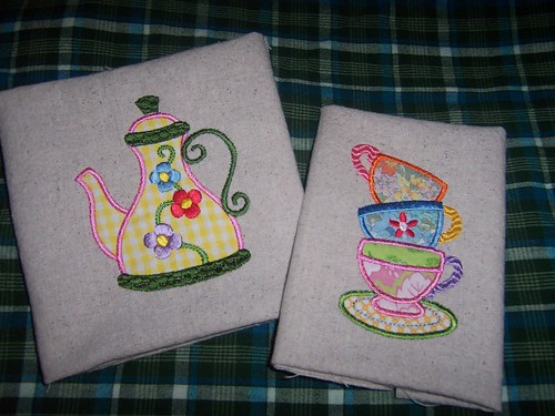 Teaset Applique