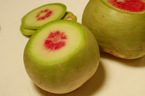 Pickled Watermelon Radish: Eatwell Recipe 3 | The Garden of Eating