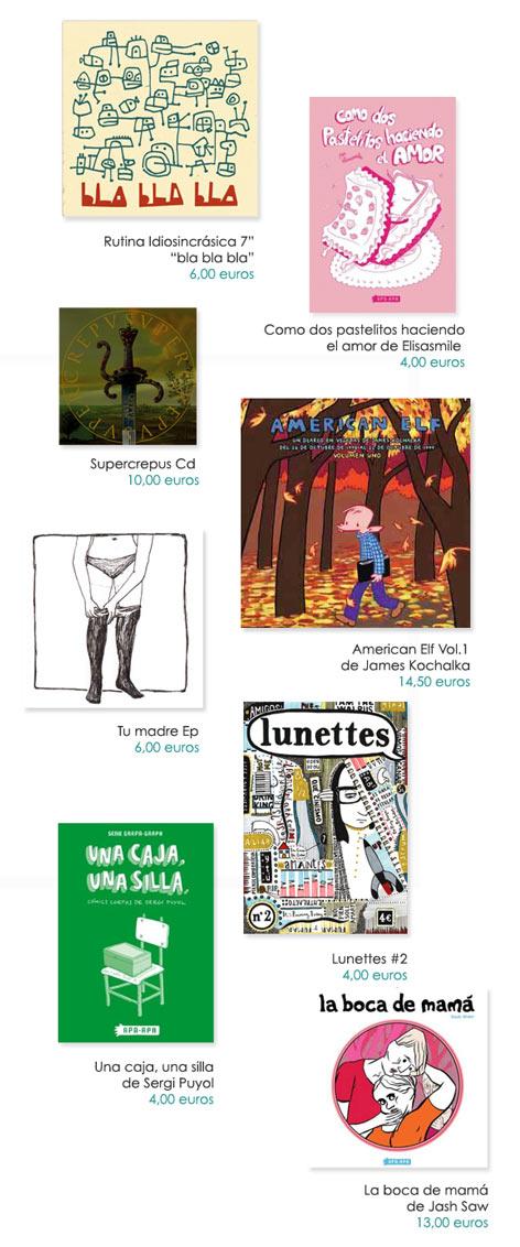 Duduá / Novedades en la tienda online: Libros, fanzines y discos
