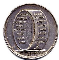 Corn Jew Medal rev