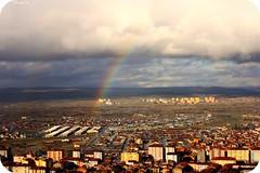 Gkkuann ssledii Ktahya manzaras... (Narcicegirengi(Sevde)photography) Tags: rainbow flickr estrellas manzara gkkua colourartaward ktayha