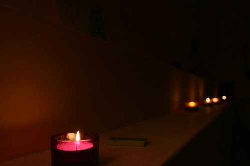 24-7 Prayer Room - Candles