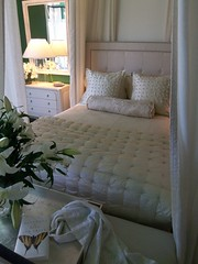 Dream Home master suite 8 (jeweledlion) Tags: white house green lamp farmhouse butterfly bench mirror bed bedroom beige chest sonoma victorian ivory books pillow headboard curtains interiordesign winecountry lillys bedding nightstand valleyofthemoon dreamhome mastersuite greenbedroom hgtvdreamhome beautifulbedroom victorianfarmhouse jeweledlion jeweledlionsdreamhome dreamhome2009 dreamhomesonoma