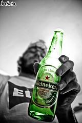 (baketa) Tags: verde green beer heineken elvis alcohol bier cerveja bire lcool baketa