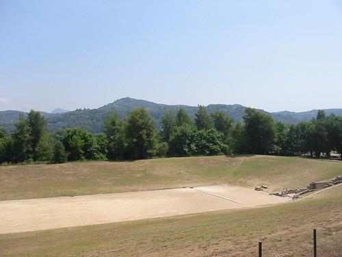 De eerste Olympische piste ooit