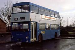 Derby 253 (MLK440L) (2E0MCA) Tags: blue england bus london transport derby busstation daimler fleetline parkroyal
