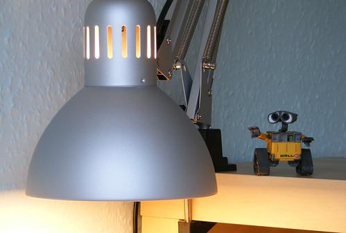 pixar lamp wallpaper. PIXAR lamp and Wall•E by