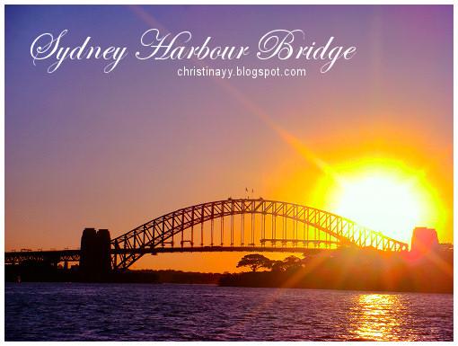 Sydney Harbour Bridge: Sunset
