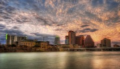 Beautiful Austin at Sunset (Stuck in Customs) Tags: lighting travel light sunset urban panorama art texture colors beautiful lines modern clouds composition skyscraper austin reflections river painting fun photography grey amazing intense construction nikon perfect colorado colorful exposure downtown shoot artist cityscape texas photographer shot angle bright image vibrant unique background details horizon perspective scenic picture dramatic surreal atmosphere scene edge processing stunning pro metropolis framing top100 portfolio lovely capture drama emotions magical hdr texan masterpiece facebook treatment austindowntown stuckincustoms d3x treyratcliff 25things