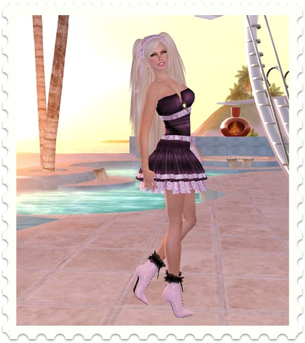 MALT - Belle Dress (WineBerry) by you.