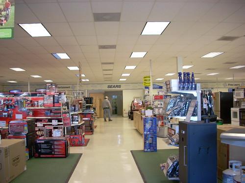 Sears Store Interior