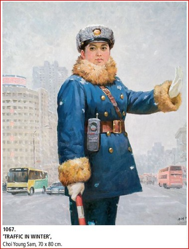 Traffic Policewomen Paintings - Art from North Korea 3285287703_15ae9d0d5d