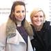 VanJean owner Melissa Blanchard with buyer Susan Steiner