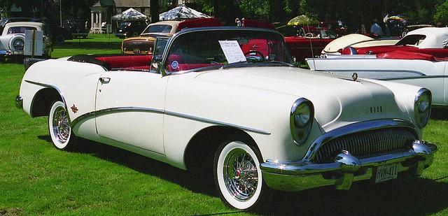 buick convertible 1954 skylark gmfyi 1954buickskylarkconvertible willisteadconcours1995 ©richardspiegelmancarphoto