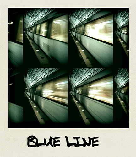 Blue Line - Taken With An iPhone