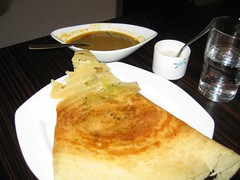 Lunch at Lily's - masala dosa by BinaryApe, on Flickr