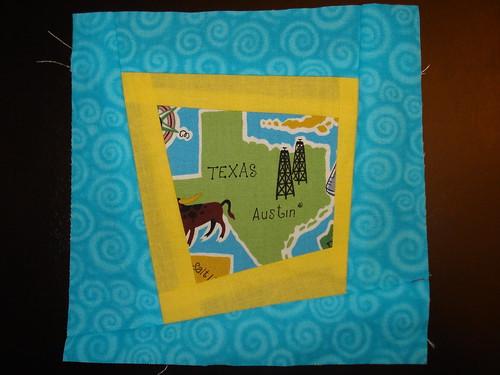 Texas quilt block