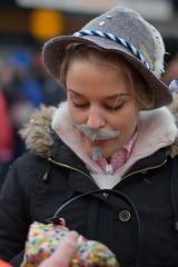 Unrasiert (8#X) Tags: street carnival portrait people germany munich geotagged bayern deutschland bavaria costume nikon europa europe menschen fasching karneval verkleidung nohdr 8x d700 sigma50mmf14 geo:lat=48135857 geo:lon=11576304