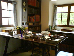 Graves' work room