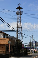 三ヶ島林の火の見櫓(所沢市)
