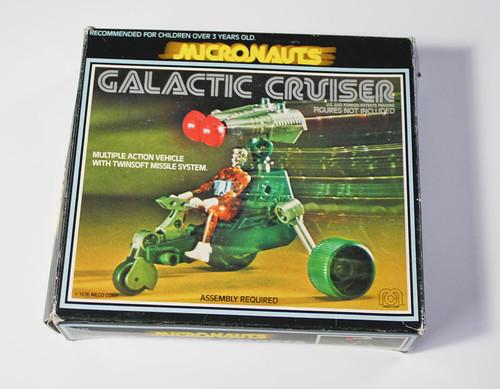 Micronauts Galactic Cruiser