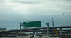Ramps to Beltway 8 from southbound I-45 (FreewayDan) Tags: sam houston 8 45 interstate tollway iah beltway