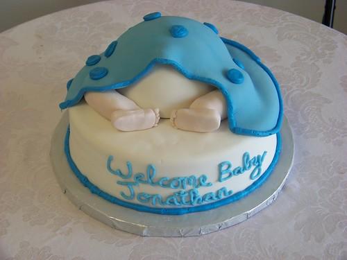 Shy Baby Baby Shower Cake III