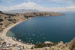 Copacabana, Bolivia (chris.bryant) Tags: ocean sea sky sun sol laketiticaca titicaca southamerica water boats lago agua marine afternoon view piers bolivia hills copacabana vista picturesque wmp ih sudamerica lagotiticaca amricadosul otw 5photosaday aplusphoto flickraward concordians fleursetnature simplysuperb worldtrekker absolutelystunningscapes qualitypixels vanagram top20travelpix boliviafotogenica copacabanabay