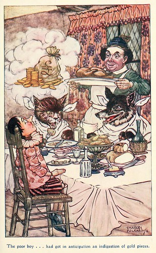 017-Charles Folkard- Pinocchio the tale of a puppet -1911