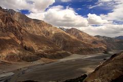 Nubra Valley - Ladakh, India (Shirish Prabhudesai) Tags: sky india mountain clouds landscape long altitude horizon deep valley ravine kashmir stretched distance range himalayas ladakh jammu