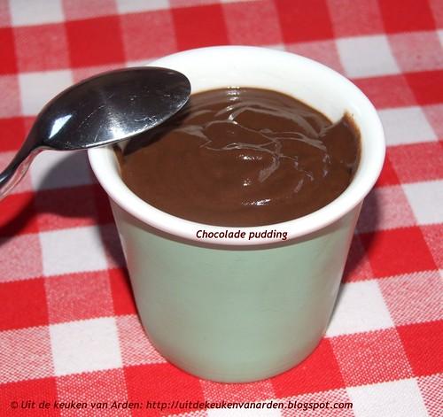 Chocolade pudding