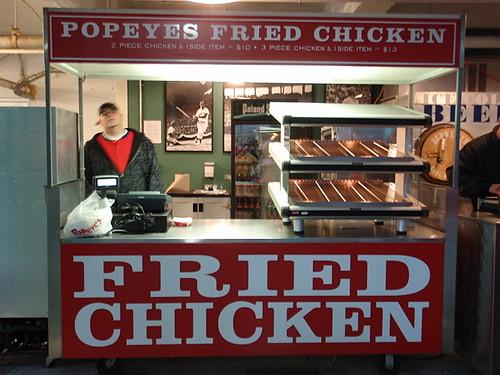 Popeyes in Fenway!