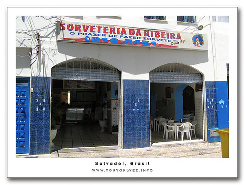 sorveteria da Ribeira, top-quality ice-cream in Salvador