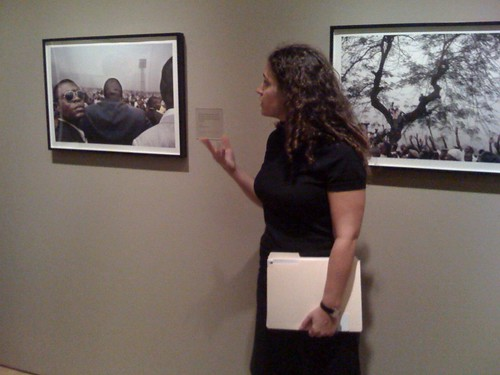 SFMOMA photography curator Lisa Sutcliffe talking about Guy Tillim