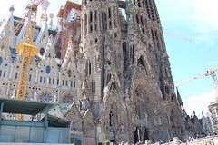 Barcelona (Robert Nyman) Tags: barcelona familia spain gaudí april sagradafamilia sagrada 2009 gaud april2009