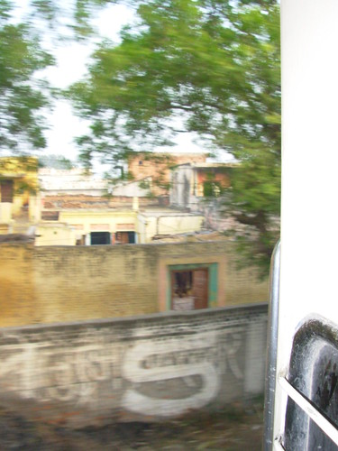 A view from a train